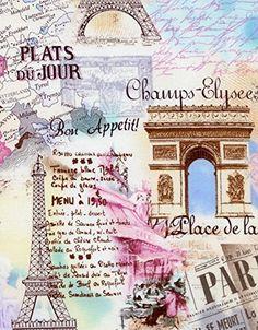 "Timeless Treasures Shabby Chic ""April in Paris"" Pastel Eiffel Tower Fabric, http://www.amazon.com/dp/B00TQGHQ0G/ref=cm_sw_r_pi_awdm_ThfEvb06K1KG7"