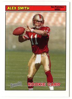 Alex Smith QB RC # 194 - 2005 Topps Baz Football NFL Rookie
