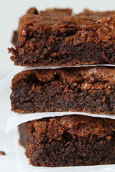 Gluten Free Fudgy Brownies! @iambaker