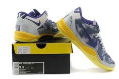 promo code bf69b 8794d Nike Kobe 8 Club Purple Tour Yellow Storm Grey 555035 558