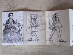 Stitched Sketchbook by Rosie James. Textile Fiber Art, Fibre Art, Rosie James, Embroidery Stitches, Machine Embroidery, Sketchbook Layout, A Level Textiles, Sewing Art, Hand Stitching