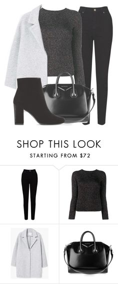 """""""Outfit #1597"""" by lauraandrade98 on Polyvore featuring EAST, Valentino, MANGO, Givenchy and Yves Saint Laurent"""