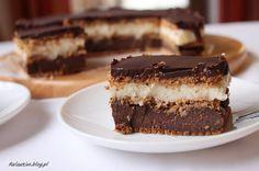 Stefanka czekoladowa - bez pieczenia Polish Recipes, Polish Food, Tiramisu, Chocolate, Ethnic Recipes, Cakes, Cake Makers, Polish Food Recipes, Kuchen