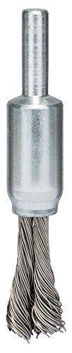 BOSCH Pinselb�rste, Edelstahl, gezopfter Draht, 0,35 mm, 10 mm, 4500 U/ min, 2608622128