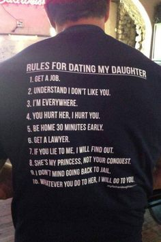 I wouldn't put it past my dad to wear this shirt, although he's never been to jail so that may raise a few questions...lol!