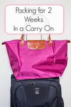 What I Packed for 2 Weeks in Europe Using Only Carry On Luggage
