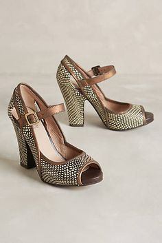 Leaf-Roller Heels/Anthropologie