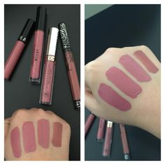 Sephora Marvelous Mauve, Stila Patina, and Anastasia Dusty Rose look alike!!! And the last one is the infamous Kat Von D, Lolita