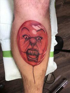 My new Tattoo Horror Movie Tattoos, All Horror Movies, Clown Tattoo, New Tattoos, Body Painting, Tatting, Tattoo Ideas, Canvas, Tattoos