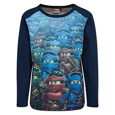 Official Lego Ninjago Boys longsleeved Tshirt 140cm 10 years >>> Read more reviews of the product by visiting the link on the image.Note:It is affiliate link to Amazon.