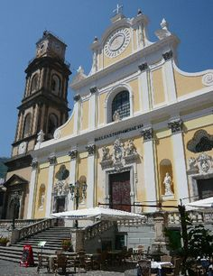 Santa Trofimena Church Minori (Sa)
