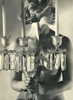 Candelabra, ca. 1935, photographed by Dora Maar.