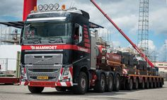 Volvo FH16 for Mammoet