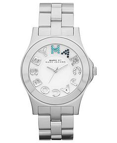 Marc by Marc Jacobs Watch, Women's Rivera Stainless Steel Bracelet 40mm MBM3136 - Marc by Marc Jacobs - Jewelry & Watches - Macy's