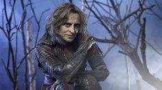 Rumplestiltskin/Mr. Gold He doesn't always look so … scaly. But whether he's in his gross form or looking distinctly human, Rumple is always charming. It's what makes people fall for his tricks — and develop awkward crushes.