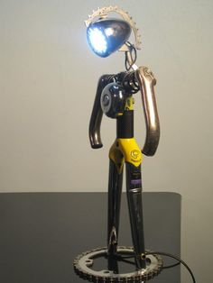 Bicycle Industrial Table Lamp Table Lamps