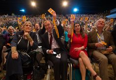 LR Sal Brinton President of the Liberal Democrats leader of the Liberal Democrats Tim Farron former minister Jo Swinson and Paddy Ashdown vote for a. Tim Farron, Liberal Democrats, Bournemouth, Presidents, Centre, Concert, Business, Pictures, Image
