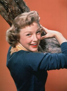 There's the June Allyson look - cute as a button