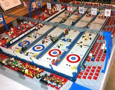 Ultimate Curling Arena LEGO Kit by AtlanticBrickDesign on Etsy