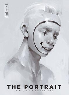 THE PORTRAIT EXHIBITION by Lai N. Nguyen // Inspiration for the EMRLD14 Team // www.emrld14.com
