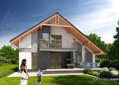 Projekty domów LK Projekt LK&1018 zdjęcie wiodące
