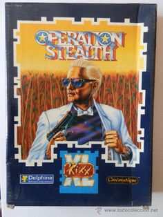 Operation Stealth. Delphine. Kixx XL,. Disquetes. En castellano