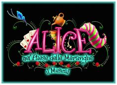 OFFICIAL MARK by Annalisa Benedetti for Alice nel paese delle meraviglie il Musical (Alice in Wonderland)  - copyright Annalisa Benedetti and Enrico Botta #alice #aliceinwonderland #musical #wonderland