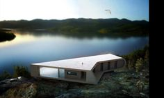 Alendal Summerhouse by Saunders architecture (www.saunders.no)