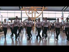 TAKE THE FLOOR Flashmob Dublin Airport
