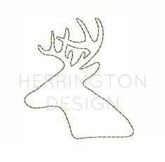 Deer Antler Raw Stitch Applique Design Embroidery Redwork Raggy Applique Simple stitch Instant downl Leaf Template, Art Template, Templates, Brother Embroidery Machine, Embroidery Machines, Embroidery Fonts, Embroidery Patterns, Applique Designs, Quilting Designs