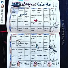 Check out this workout plan from @fitbabysteps. Use this as inspiration then go do some squats or something! #Repost @fitbabysteps with @repostapp. ・・・ Got creative and planned out my workout schedule in my journal!!! So excited!  #showmeyourplanner #erincondren #inkwellpressplanner #plumpaperplanner #happyplanner #passionplanner #travelersnotebook #midoritravelersnotebook #kikik #passionplanner #workout #getfit #liftweights #burpees #dumbells #weights #gym #trainer #trainhard