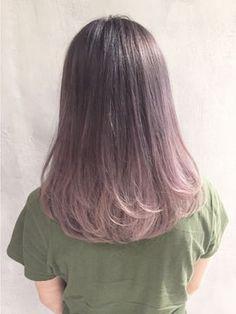 ~ αnd your sweet sweet sun mαkes me crαzy ~ Hair Color Streaks, Ombre Hair Color, Hair Color For Black Hair, Cool Hair Color, Hair Highlights, Pink Hair, Medium Hair Styles, Short Hair Styles, Korean Medium Hair