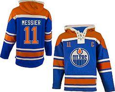 Mark Messier Oilers hoodie by Old Time Hockey