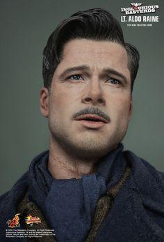 Hot Toys Inglourious Basterds 1 6 Figure Brad Pitt Aldo Raine Hottoys Sold Out   eBay