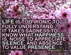 LIFE IS TOO IRONIC