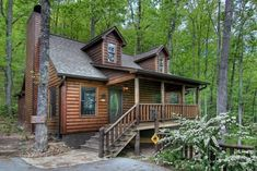 Alluring Log Cabin In The Smoky Mountains