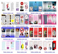 Brochure examples 4 re: bullying produced in Microsoft Publisher by 7th graders, RYSS. Note: photographs and symbols downloaded from the Internet strictly for educational purposes.