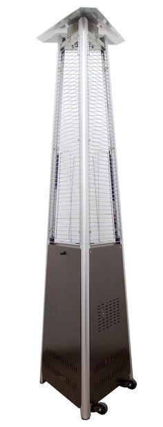 az patio heaters commercial patio heater in stainless steel outdoor heaters pinterest outdoor heaters and patios - Natural Gas Patio Heater