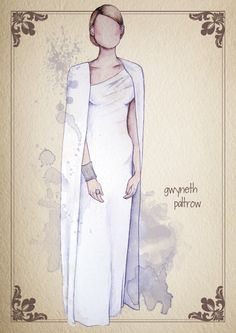 camila-gray-watercolor-red-carpet-looks-illustrations-oscars-2012-gwyneth-paltrow