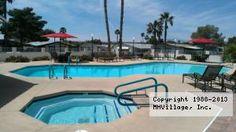 Cabana in Las Vegas, NV via MHVillage.com