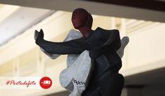 Patung pencak silat, salah satu warisan seni bela diri dari Indonesia :)  #patung #photography #portodefoto