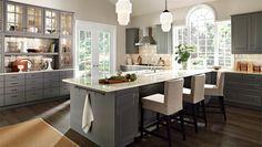 LIDINGÖ grey kitchen