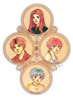 Tonks family Tree artwork by alicia-chan
