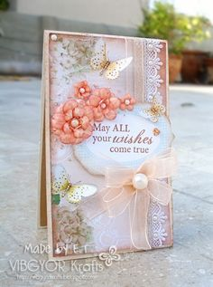 Such a soft, romantic card!
