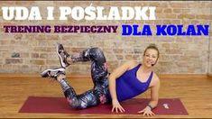 Trening Uda Pośladki BEZPIECZNY DLA KOLAN Pilates, Cardio, Health Fitness, Wrestling, Exercise, Sports, Youtube, Legs, Film