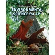 Required Text for AP Environmental Science; Environmental Science for AP* by Friedland  ISBN:9780716738497