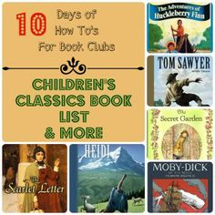 1000 images about homeschool girls book club ideas on for House classics list