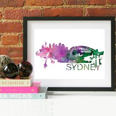 15.00$ - Sydney, Australia Skyline Watercolor Art Print  #display #computer #technology #screen #monitor #internet #laptop #business #design #black #modern #equipment #office #television #pc #notebook #blank #lcd #symbol #panel #desktop #web site #keyboard #work #communication #digital #3d #home #space #data #light #mobile #web #box #information #silver #icon #object #flat #color #electronic #sign #connection #gold