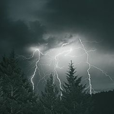 """""""Lightning Sky."""" This is one of the coolest photos I've seen in awhile. Crazy!"""