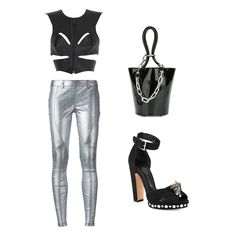 Space-Chic New Years #kultlike #outfit #wang #mcqueen